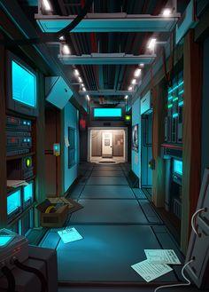 server computer futuristic episode interactive backgrounds interior spaceship sci fi concept tech consultant business space architecture ship environment data visit