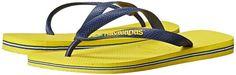 Havaianas Brazil Logo Flip Flops Men's Sandals