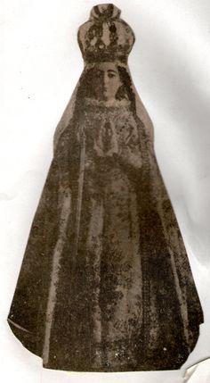 Virgen de Ujarrás, Vestida. Primera Patrona de Costa Rica, Iglesia de Paraíso, Cartago, Costa Rica. Foto: La Nación