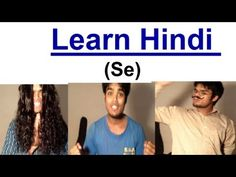 Learn Hindi - Se...I absolutely love this guys teaching @Sachin1anil1