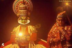 The great indian couple Dhushyntha&Sakunthala In kathakali.