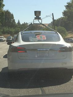 Tesla Spotted Driving With LIDAR On Top