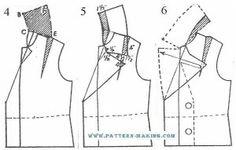 180 Best Jacket Drafting, Construction, & Patterns images