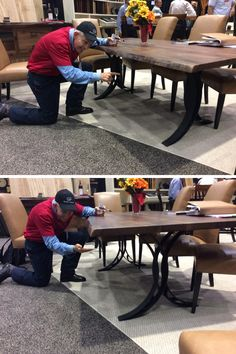 Mattress Mack carefully inspects the pieces he hand selects for our amazing customers! Come check out the selection TODAY! | Houston, TX | Gallery Furniture |