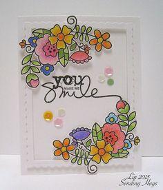 Blossoming Buds, You Make Me Smile...