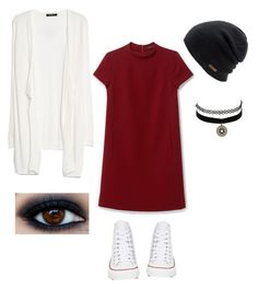 """Untitled #10"" by bigredbriklyn on Polyvore featuring MANGO, Converse, Coal, Theory and Charlotte Russe"