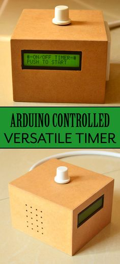 Handy timer controlled with #Arduino.