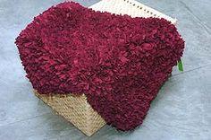 Como hacer alfombras a mano