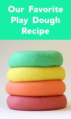 Our absolute favorite play dough recipe! #playdough #playdoughrecipe #playdoughactivities #playdoughideas #sensoryplay #toddleractivities #finemotoractivities Playdough Activities, Toddler Activities, Dough Recipe, Sensory Play, Recipes, Rezepte, Food Recipes, Toddler Learning Activities, Recipies