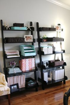 simply organized: simply organized home office - with Martha Stewart Would love this in the basement