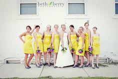 yellow wedding