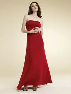 This gown is really elegant! It would be lovely for a fancy Christmas banquet! :)
