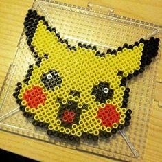 Pikachu perler beads by turdlebutt