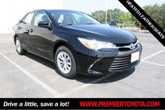 Browse pictures and detailed information about the great selection of 139 new Toyota cars, trucks, and SUVs in the Premier Toyota of Amherst online inventory. Used Toyota Camry, Toyota Camry For Sale, 2015 Toyota Camry, Toyota Cars, Door Mirrors, Fuel Efficient Cars, Leather Seats, Cars For Sale