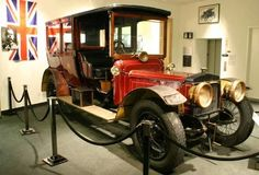 Daimler Hooper Limousine - 1910 (Prince's car King George V of Great Britain)