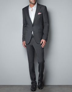FITTED TAILORED BLAZER - Suits - Man - ZARA United States $189