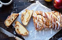 A delicious apple-cinnamon bread, delightful for breakfast or brunch. Apple Cinnamon Bread, Apple Bread, Cinnamon Apples, Cinnamon Rolls, Dried Potatoes, King Arthur Flour, Thing 1, Bread Recipes, Flour Recipes