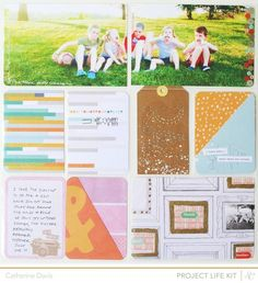 August Project Life | Studio Calico Marks & Co PL #BPCPLcommunity#Projectlifeideas #Projectlife