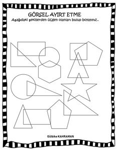 Preschool Activities, Geometric Shapes, Worksheets, Crafts For Kids, Language, Classroom, Education, Infant Activities, Ideas