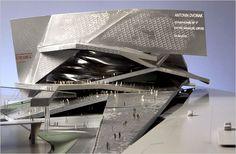 The Philharmonie de Paris, designed by Jean Nouvel