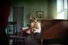 Woman Reading http://www.slate.com/blogs/behold/2013/11/25/richard_tuschman_edward_hopper_recreations_are_inspired_by_the_painter_s.html