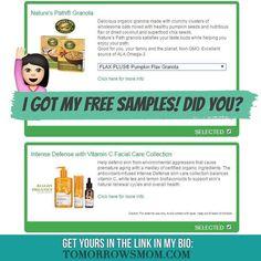 I just requested my free samples (both vegan) get yours click the link in my bio @tomorrowsmom  #tomorrowsmom #couponcommunity #vegan #organic #naturalmakeup