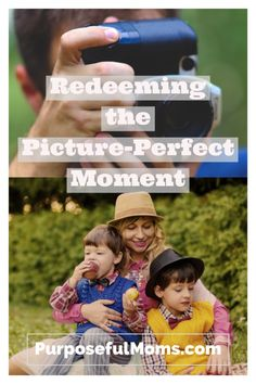 """With Halloween over and the Christmas season beginning basically the next day, it means I have to mentally prepare myself now for the supposed """"picture-perfect moment."""" But what if you could redeem the picture-perfect moment? What if there was a way to take the typical guy response and transform it into a moment for the purposeful dad?"""