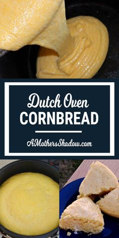 Dutch Oven Cooking Hearty Corn Bread is part of cooking Art Ovens - Recipe for hearty corn bread baked in a dutch oven Dutch Oven Uses, Dutch Oven Bread, Dutch Oven Camping, Cast Iron Dutch Oven, Bread Oven, Oven Cooking, Cooking Recipes, Dutch Oven Recipes Dessert, Dutch Oven Campfire Recipes