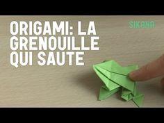 Origami : Grenouille en papier - HD - YouTube