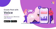 Start creating post with Pixalive. Add Voice Notes along with Photos, Videos, and Texts and secure your memories with Pixalive.  #Pixalive #App #voice #Games #socialMedia #Friends #Chat #VideoCall #Voicecall #Photos #Texts #India Games For Kids, Games To Play, People App, Chat Games, Medium App, How To Become, How To Get, News Apps, App Store Google Play