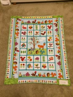 Emilia's first mommy made quilt