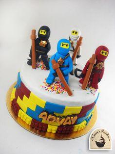 NINJAGO THEMED CAKE - Cake by RENEE'S PASTELERIA