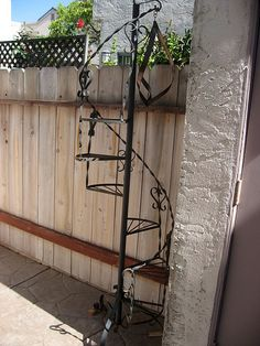 wrought iron plant stands - Google Search