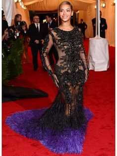 Beyoncé is sure to stun on stage at this weekend's Super Bowl halftime show just as she does on the red carpet. From curve-hugging gowns with eye-catching embellishment to playful prints and her signature oversized earrings, Bey is not afraid to go glam. http://fashionfix.net-a-porter.com/newsflash/style-icon-beyonce