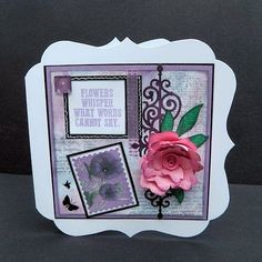 Country View Crafts' Projects: Floral whisper - Chris