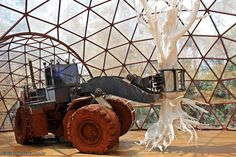 Galeria Matthew Barney, no eixo rosa do Inhotim.