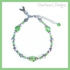 Swarovski Crystal Mental Health Awareness by DearheartJewelry, $34.50  Ordering one for my daughter and I to show support for my son <3