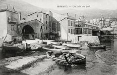 Very old photography of the barely born port of Monaco... http://monaco-addict.com