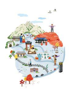 서울 일러스트 지도 - Google 검색 Graphic Design Branding, Kids Rugs, Illustration, Home Decor, Google, Decoration Home, Kid Friendly Rugs, Room Decor, Illustrations