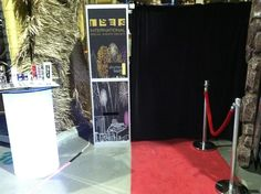 Dress up your customized ShutterBooth with our red carpet!