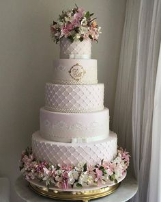 Wedding cakes - Basic yet gorgeous cake inspirations. Desire for extra stunning advice, pop to the pin image this instant. Fake Wedding Cakes, Amazing Wedding Cakes, White Wedding Cakes, Elegant Wedding Cakes, Wedding Cake Designs, Cake Boss Wedding, Quinceanera Cakes, Gorgeous Cakes, Savoury Cake