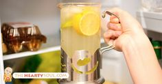 Lemon Water In The Morning ~ People dealing with exhaustion from fibromyalgia can drink lemon water in combination with yoga stretches in order to feel some improvement. It can reduce the pain in sore muscles substantially.