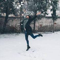 """You say """"singing in the rain"""". We say """"dancing in the snow"""" Thessaloniki, ❤… Singing In The Rain, Thessaloniki, Winter Day, Dancing, Snow, Sayings, Travel, Fictional Characters, Instagram"""