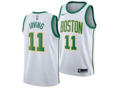 Rep your city with the Boston Celtics KYRIE IRVING Nike 2018 NBA Men s City  Edition Swingman Jersey. 1c6423bd5