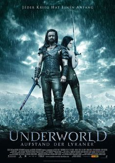 Underworld: Rise of the Lycans (2009): An origins story centered on the centuries-old feud between the race of aristocratic vampires and their onetime slaves, the Lycans