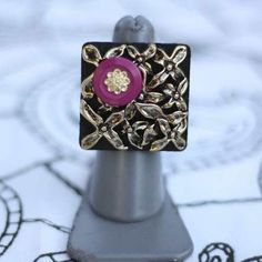NEW rings by Button Therapy!  Special promotion going on now!