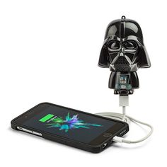 Star Wars Mighty Minis Micro Boost USB charger Darth Vader ThinkGeek Micro-boost USB charger - extra juice when you need it most using standard batteries Cool Fathers Day Gifts, Cool Gifts, Unique Gifts, Darth Vader, Funko Pop, Neiman Marcus, Minis, Geek Gifts For Him, Star Wars Gifts
