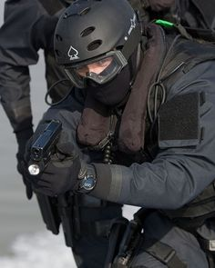 British Armed Police CO19