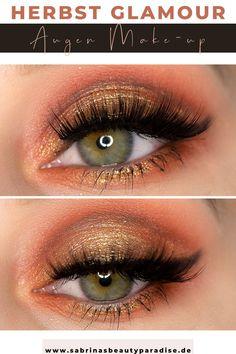 Schimmerndes glamouröses Augen Makeup mit der Morphe x Maddie Ziegler The Imagination Eyeshadow Palette. Augen Make-up Ideen mit Morphe Lidschatten für den Herbst. Herbst Make-up Look für die Augen mit günstigen Lidschatten.