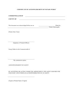 Witnesses can use this free, printable certificate of ...